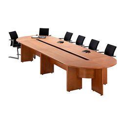 Meeting Corner Circle Shaped Table