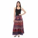 Barmeri Cotton Wrap Skirt
