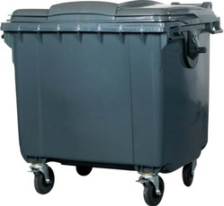 1100L Waste Dustbin