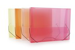 Document Case Box Transparent