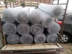 Iron Link Mesh Fencing, tata wire, Size: Inchimbou, One Inch Sizes