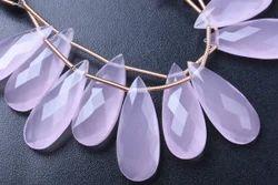 Rose Quartz Semi Precious Stone Beads