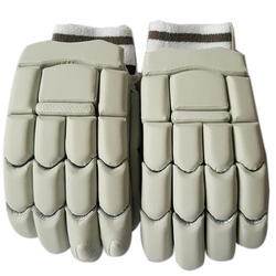 White Cricket Batting Gloves, Packaging Type: Packet