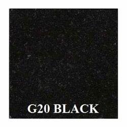 G20 Black Granite,  Thickness : 5-10 mm
