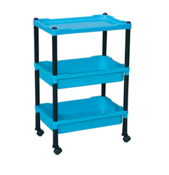 Three Trolley Shelves