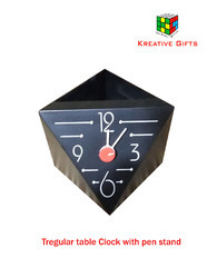 Table Clock with Pen sand