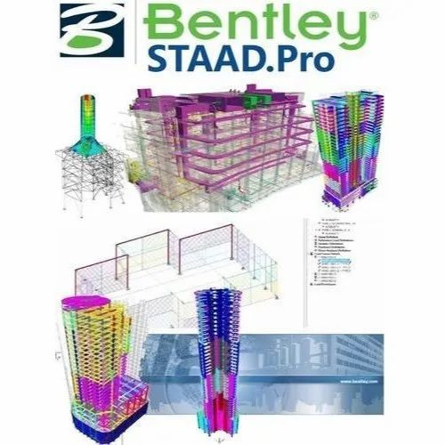 Latest Version STAAD.Pro Software, Rs 230000 /unit C SOFT   ID: 21064110930