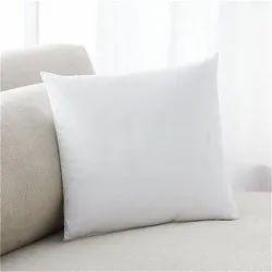 White Polyester Fibre Cushion