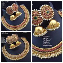 Wedding Wear Imitation Designer Kundan Jewellery