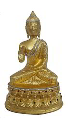 24 Carat Gold Leafing on Buddha