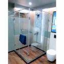 Transparent Bathroom Glass