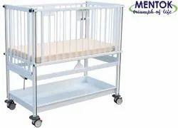 Manual Mild Steel Child Hospital Bed