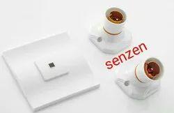 senzen Plastic Electrical Angle Holder, Base Type: B22