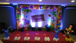 1 Day Birthday Decorations, Rquriment location