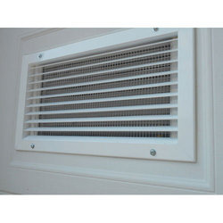 Window AC Deflection Grille