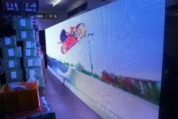 Full Color & Single Color Dot Matrix Outdoor Led Display Screen, For To Run Text And Video