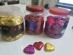 B Stare Pure Heart Shape Chocolate