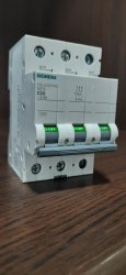 Siemens Three Pole Switch Gear