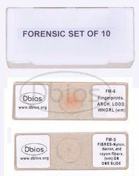 Forensic Microscopic Slides