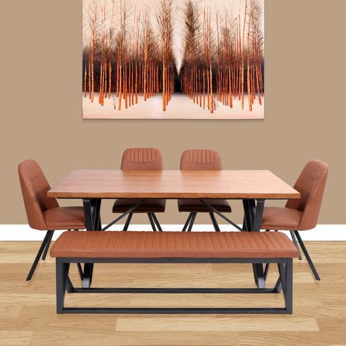 Evok Osaka Engineer Wood Dining Set Rs Set Majestic - Osaka coffee table