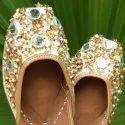 SHisha Moti Flower Designer Jutti