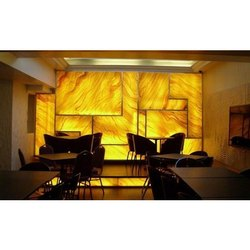 Rectangular Alabaster Wall Panels, Size/Dimension: 8 X 3 Feet