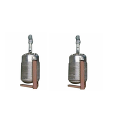 Stainless Steel Agitator Reaction Vessels, Capacity: 100- 20000 ltrs, For Industrial