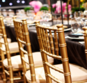Golden Tiffany Chairs