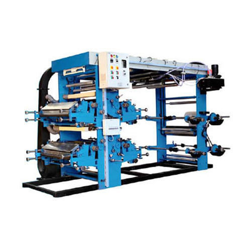 Automatic 4 Colour Flexographic Printing Machine Rs