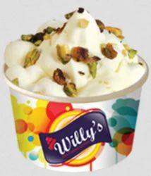 Kesar Pista Cup Ice Cream, For Restaurant