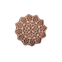 Flower Pattern Wooden Printing Stamp
