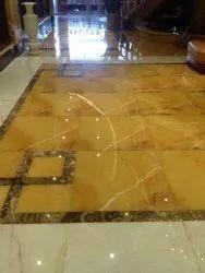 Mango Onyx Marble Flooring Service