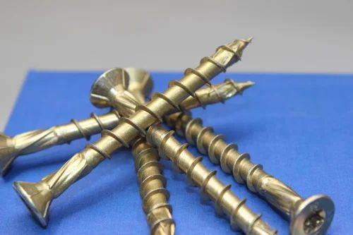 EXPANDET HECO-TOPIX Golden Wood Construction Screw, | ID: 20435733130