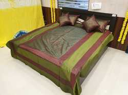 Silk Bedcover and Cushion Cover