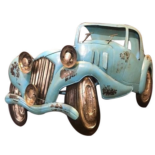 Iron Vintage Car Wall Decor