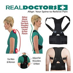 Real Doctors Posture Support Brace Back Pain