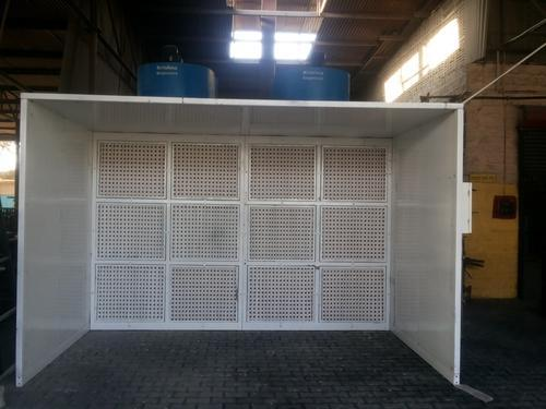Dry Type Front Open Paint Spray Booth for Wooden Furniture