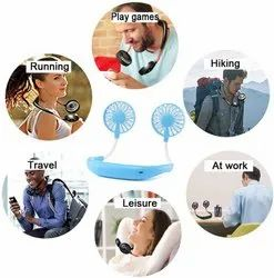 Cool Small Personal Sports Neck Fan