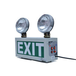 Emergency Exit Light with Halogen Beam