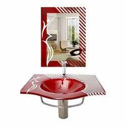 Saint Gobain Glass Designer Mirror, For Home