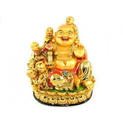 Feng Shui Laughing Buddha with Children