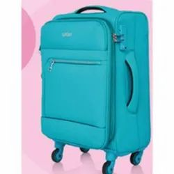 Safari Polyester 20 Inch Travel Luggage Bags, for Travelling