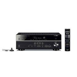 Yamaha 115W RX-V 585 7.2 AV Receiver with Dolby Atoms, DTS-X, Bluetooth, Wi-Fi, AirPlay, 4K Ultra, M