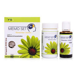 Memo Set Combo Capsules And Syrup