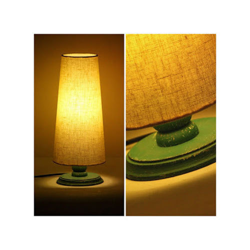 Antique Distressed Wooden Table Lamp Rs 900 Piece Woodooz Home