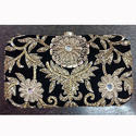 Cotton Fabric Black Partywear Ladies Clutch Purse
