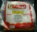 White Pvc Fan Sheet