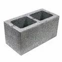 Rectangular Hollow Concrete Block, Size: 390mm X190mm