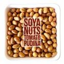 Tomato Pudina Flavored Roasted Soyabean Nuts, Packaging Type: Laminated Hdpe Woven Sack
