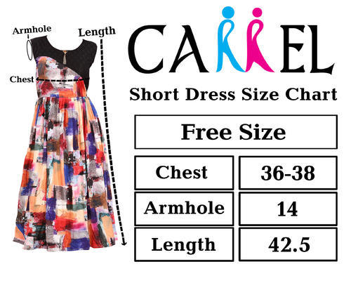 9e9cd75d81c Women Lycra Sleeveless Printed Short Dress 3609